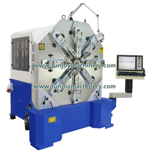 12 Axis CNC Spring Forming Machine