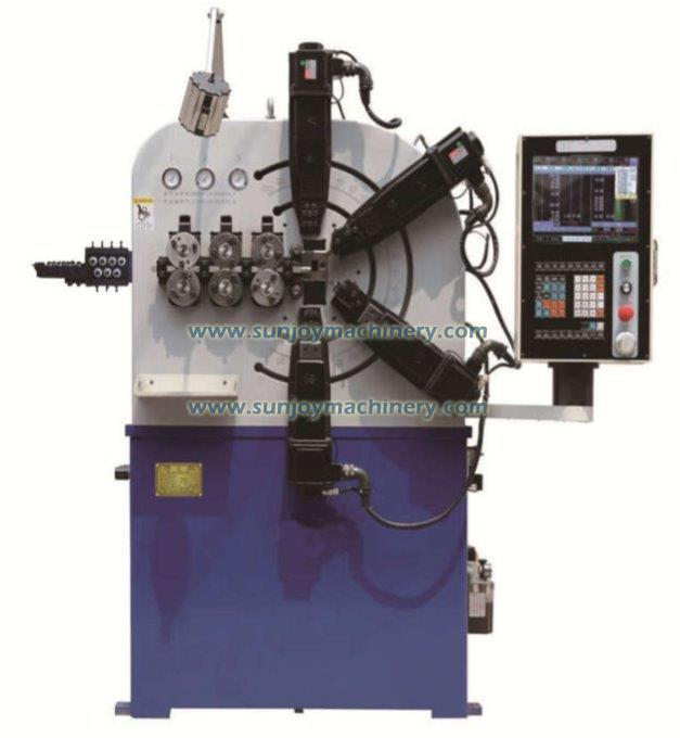 6 Axis CNC Spring Coil Machine
