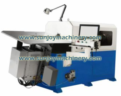 8 Axis CNC Wire Bend Machine
